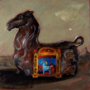 Hippodrome (self-portrait), 2002