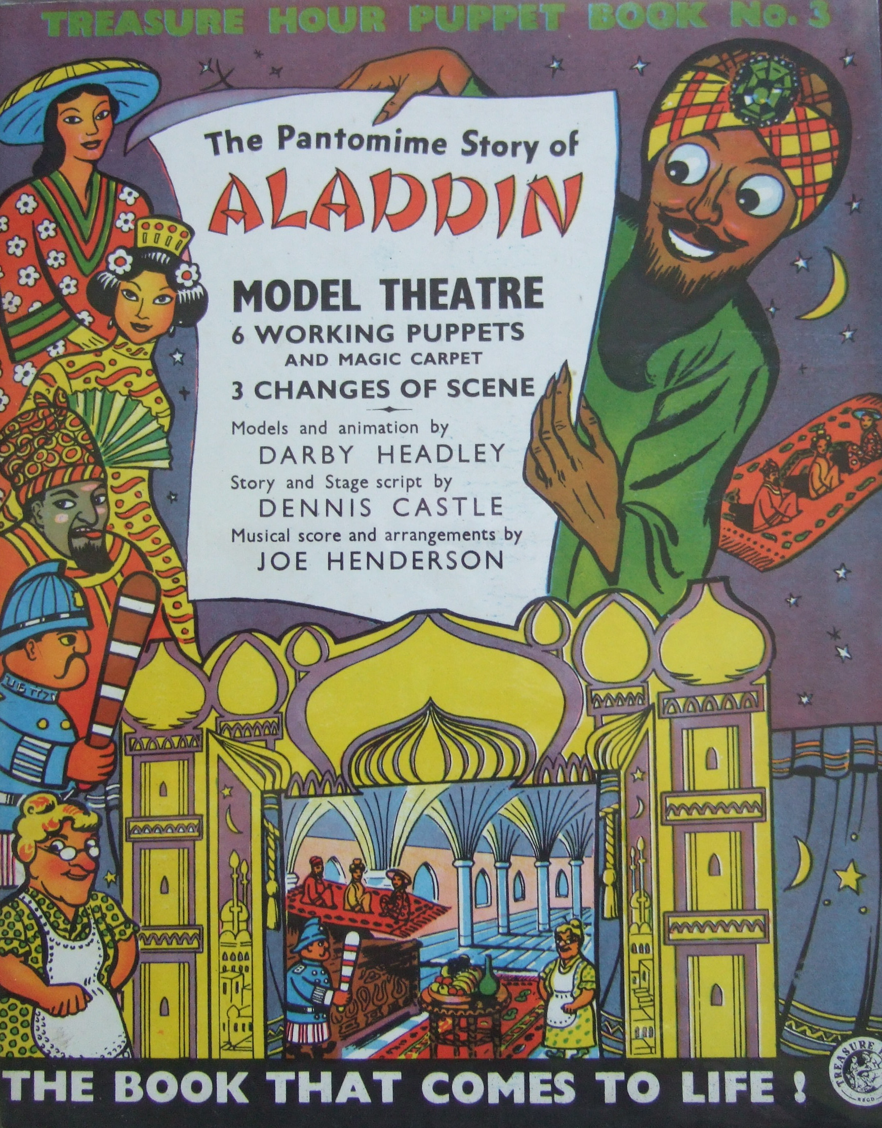 toy theatres of my childhood: Aladdin   Clive Hicks-Jenkins\' Artlog: