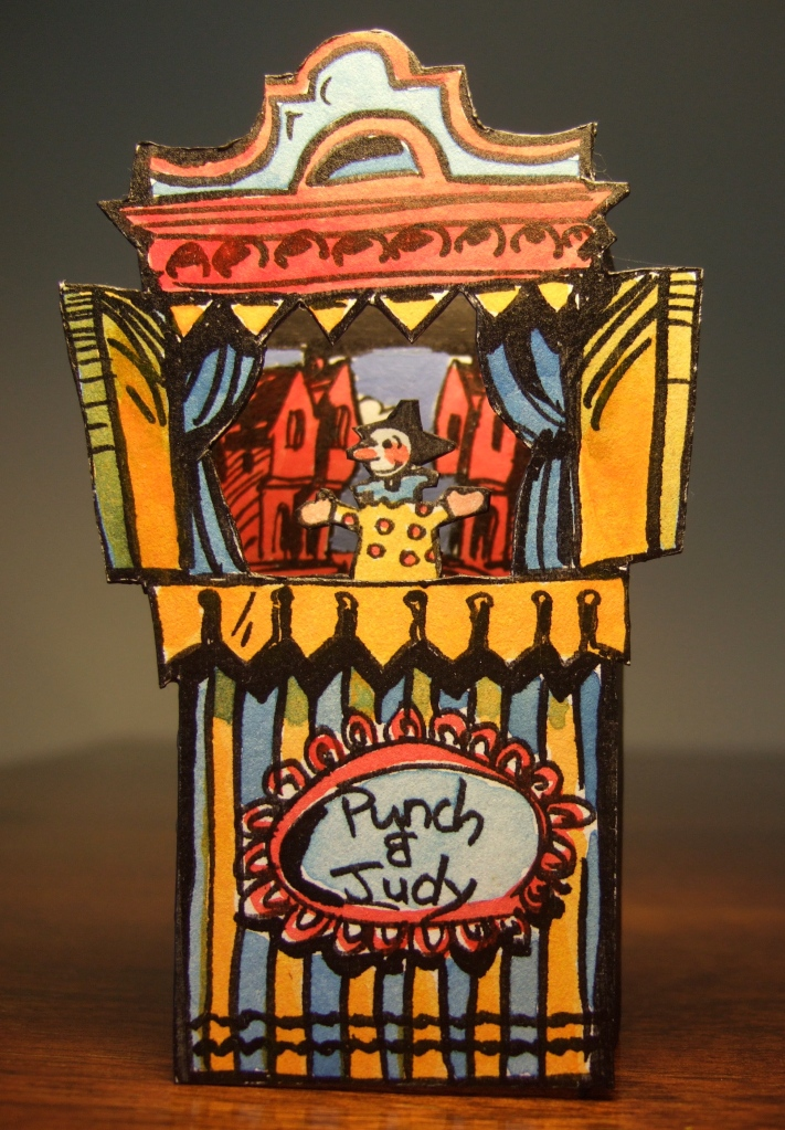Long Lost Artwork For Toy Theatres Clive Hicks Jenkins