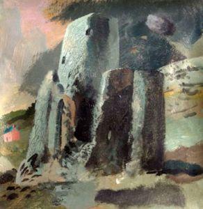 Tretower Castle, 2004