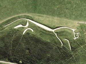 The Bronze Age Uffington White Horse